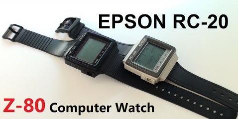 Первые смарт-часы. Умные часы, Часы, Ретро, Epson, Rc-20, Zilog z-80, Электроника, Видео, Длиннопост
