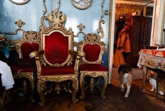 Когда ты Людовик XIV, но вынужден жить в однушке Дизайн, Дорого-Богато, Ваше величество, Интерьер, Золото, Дворец, Россия, Длиннопост