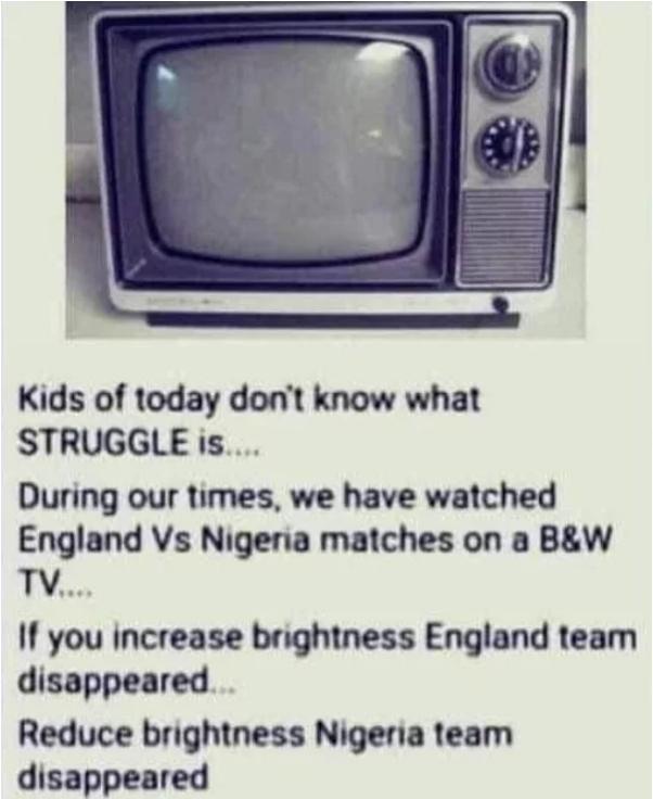 Дискриминация на телевидении Футбол, Англия, Нигерия, Черно-Белое, Черный юмор, 9GAG