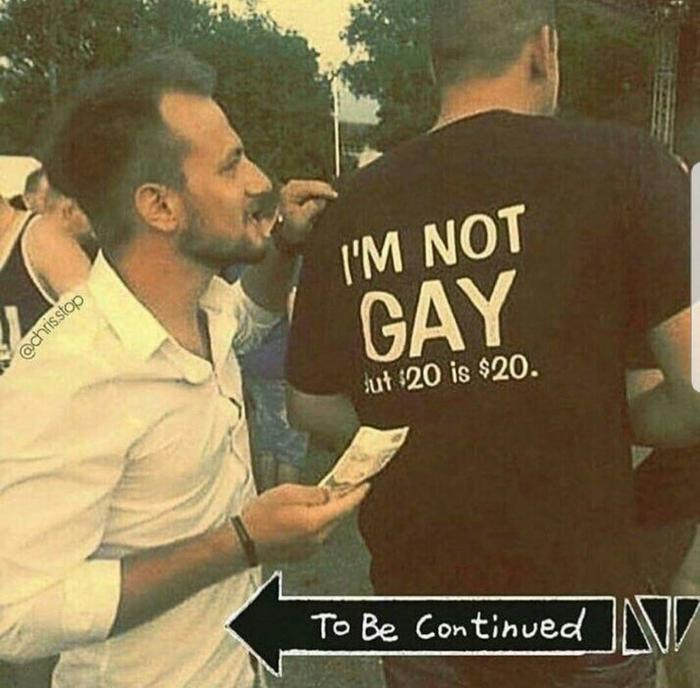(Не)правильный принт на футболке Печать на футболках, Оффер, Not gay, To be continued?