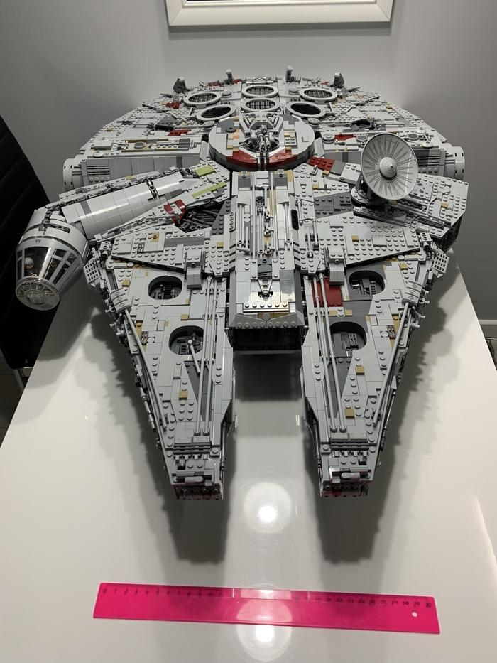 Сокол тысячелетия 9: Финал! LEGO, Тысячелетний сокол, Модель, Длиннопост, Star Wars, Кот