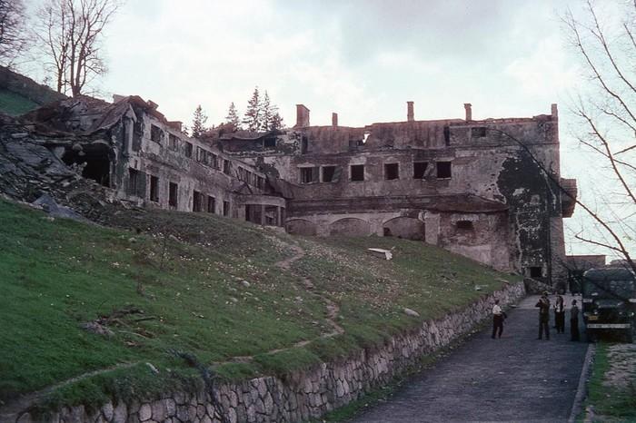 Разрушенная резиденция Гитлера, 1949 год
