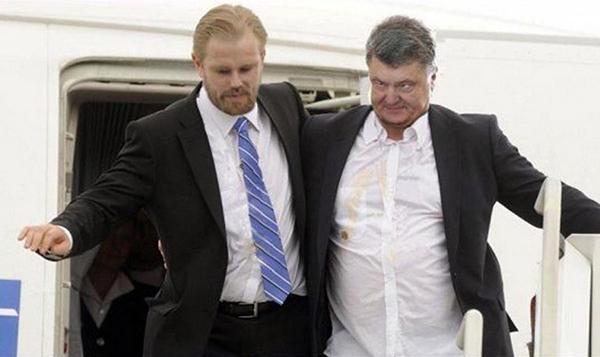 Петя пьяненький в умат - это Путин виноват! Политика, Украина, Петр Порошенко, Выборы, Путин, Михаил Саакашвили