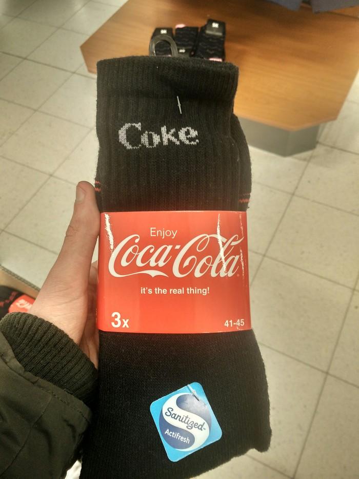 Всегда Кока-Кола! Coca-Cola, Носки, Креатив