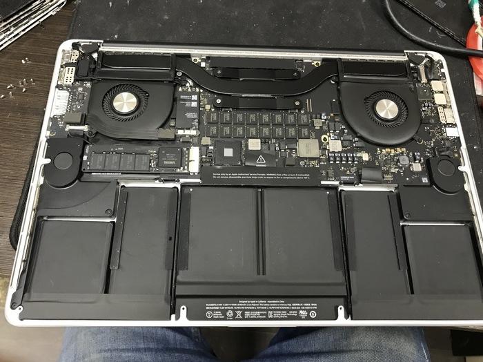 Апгрейд ОЗУ с 8 до 16гб на MacBook Pro 15 late 2013 Ремонт ноутбуков, Macbook, Пайка, Ремонт техники, Длиннопост