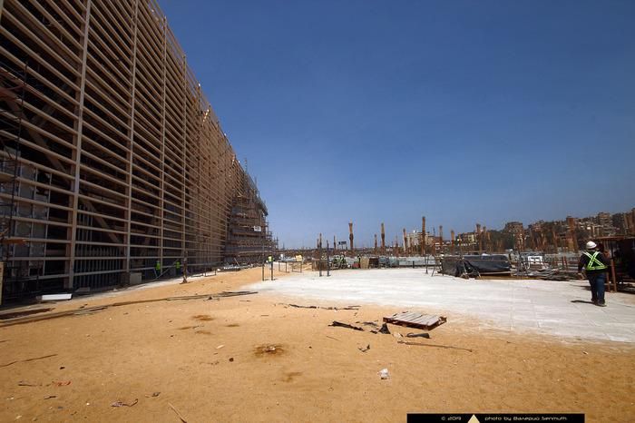 Большой Египетский Музей: эксклюзивные фотографии со стройплощадки Египет, Древний Египет, Археология, История, Египтология, Музей, Древность, Длиннопост