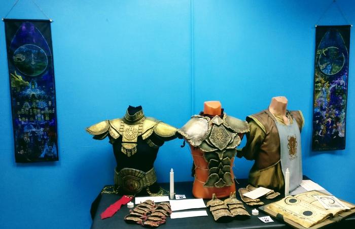 """Отчёт о выставке """"Путешествие в The Elder Scrolls [Москва]"""". The Elder Scrolls, The Elder Scrolls V: Skyrim, Morrowind, Москва, Игры, Skyrim, Ручная работа, Крафт, Длиннопост"""