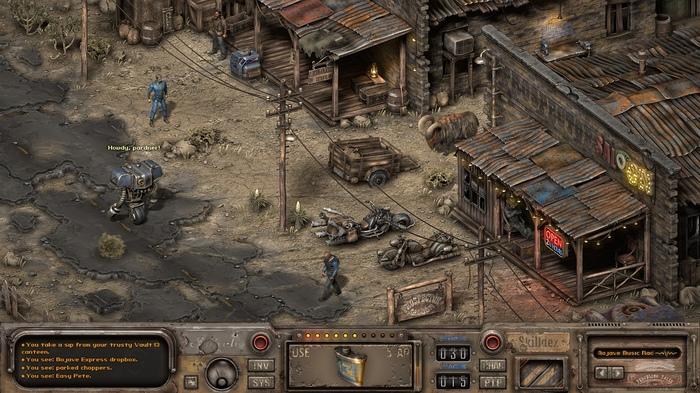 Fallout New Vegas в изометрии
