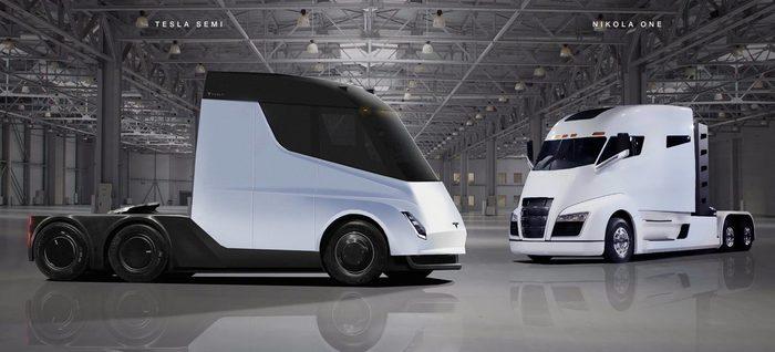 В Европе начнут производить грузовики, внешне похожие на Tesla Semi Tesla Semi, Nikola, Грузовик, Правила, Дизайн, Аэродинамика, Дальнобойщики, Новости, Длиннопост