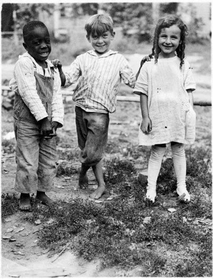 На ферме в Небраске, 1910 год.