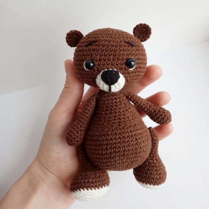 Мишутка Вязание крючком, Вязаные игрушки, Медведь, Вязание игрушек, Вязанные зверушки, Рукоделие без процесса, Длиннопост