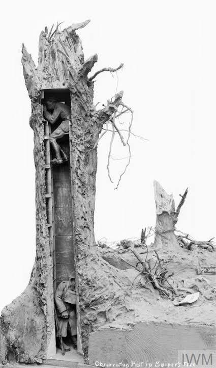 """Такие """"Фальш-деревья"""" использовались как наблюдательные посты в первой мировой войне"""
