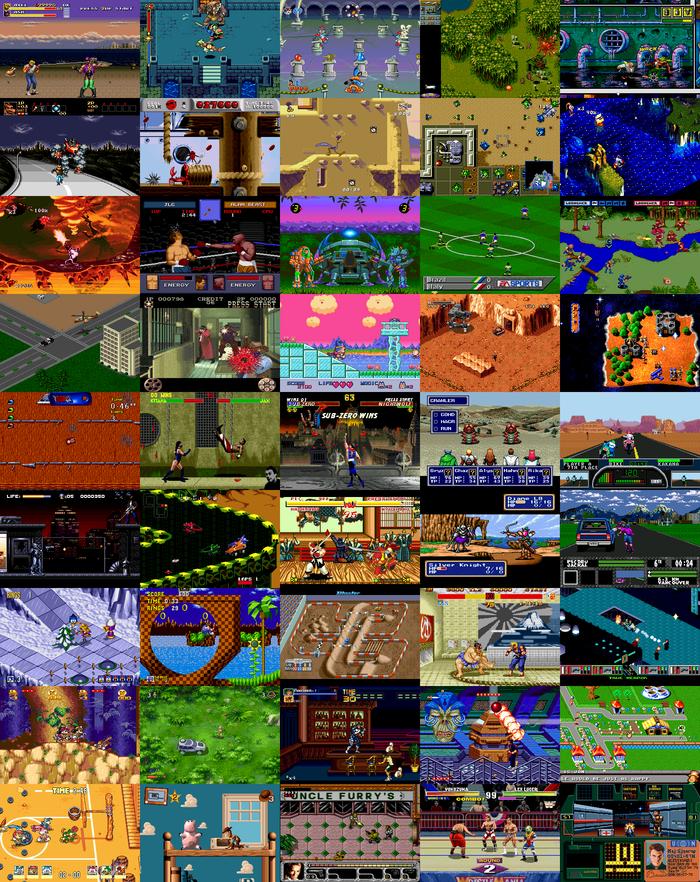 Игры 16-битных приставок в браузере Sega Mega Drive, Snes, Консольные игры, Браузерные игры, Онлайн-Игры, PC Engine, Длиннопост
