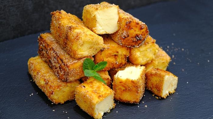 Жареное молоко Leche Frita - испанский десерт Рецепт, Десерт, Заварной крем, Видео, Длиннопост