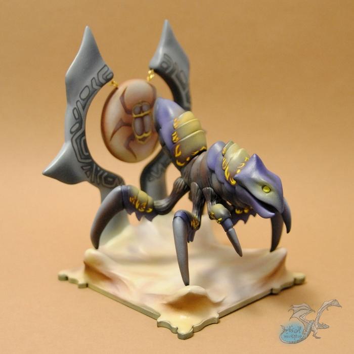 Чёрный Киражский Боевой Танк (World of Warcraft) Рукоделие без процесса, Длиннопост, Игры, Game Art, Warcraft, World of Warcraft, Фигурка, Своими руками