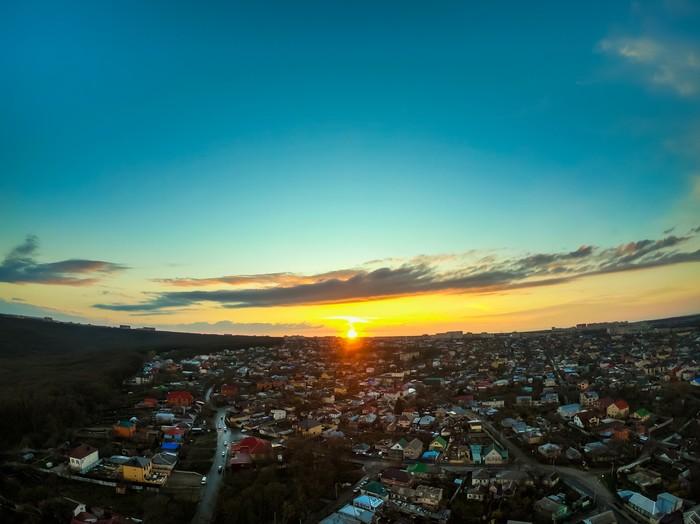 Закат над Ставрополем