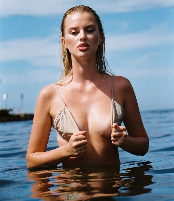 Elodie Russell byNorah Wells Модели, Девушки, Длиннопост