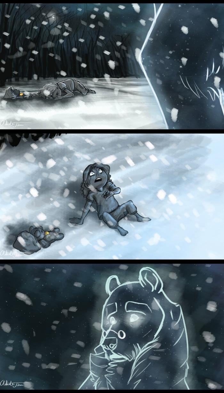 Три медведя Сказка, Комиксы, Три медведя, Длиннопост, Earthsong9405