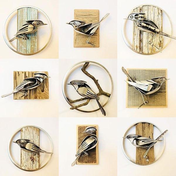 Мэтт Уилсон превращает старую посуду в произведения искусства Искусство, Интересное, Уилсон, Длиннопост