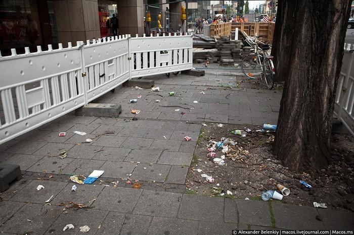 Чистота на улицах Запад, Мусор, Чистота, Улица, Россия, Длиннопост