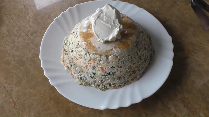 Закусочный торт к праздничному столу Еда, Закуска, Рецепт, Приготовление, Вкусно, Другая кухня, Видео рецепт, Видео, Длиннопост