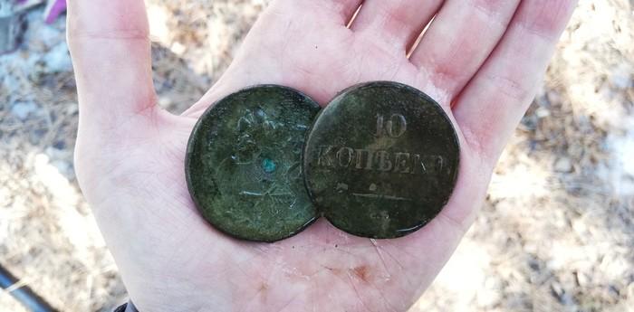 Два чирика Монета, Редкие монеты, Поиск, Металлопоиск