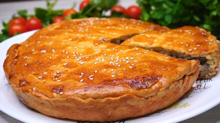 Рыбный пирог Пирог, Рецепт, Видео рецепт, Еда, Кулинария, Видео, Длиннопост