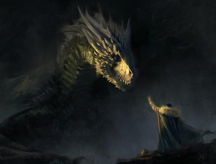 Дракон для Джона Сноу