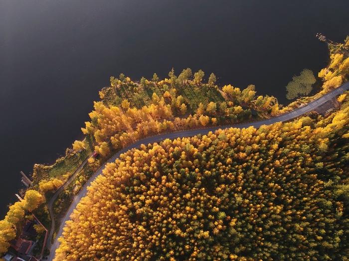 Золото Таватуя Урал, Таватуй, Свердловская область, Осень, Природа, Фотография, Пейзаж