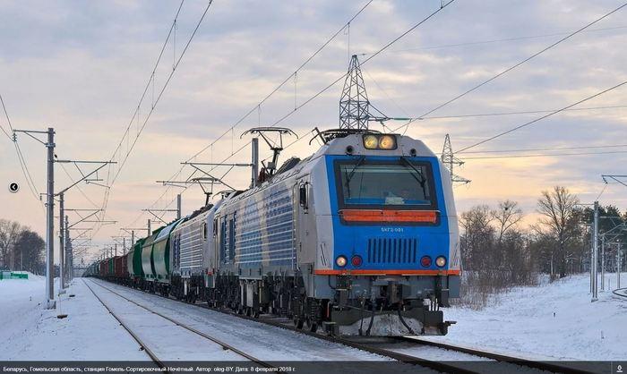 """Белорусские """"китайцы"""". Железная Дорога, Электровоз, Белоруссия, Длиннопост, Китай"""