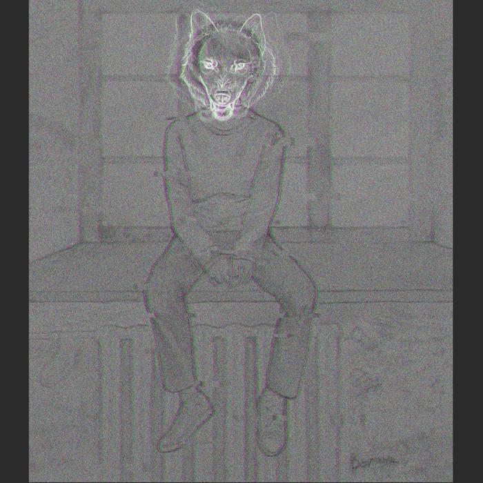 Волк. Дом, в котором Арт, Дом, Волк, Digital, Цифровой рисунок, Рисунок, Мальчик
