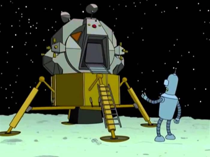 Мы построим свой лунный модуль! Придумаем, Новую, Вселенная, Творчество, Фантастика, Гифка, Длиннопост