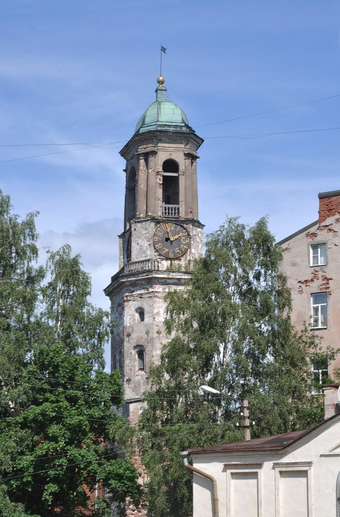 Печальный пример реставрации в Выборге. Часовая башня Выборг, Реставрация, Плохой пример, Длиннопост