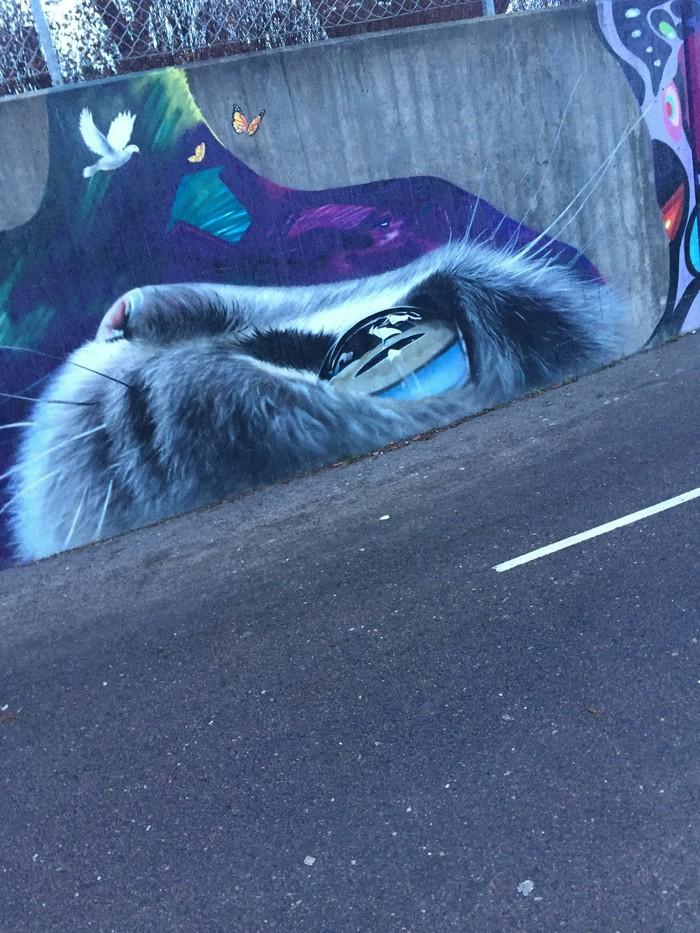 Реалистичное граффити
