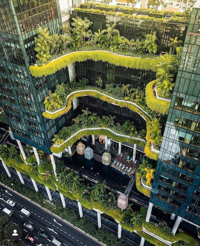 Сингапур Архитектура, Современная архитектура, Длиннопост, Сингапур