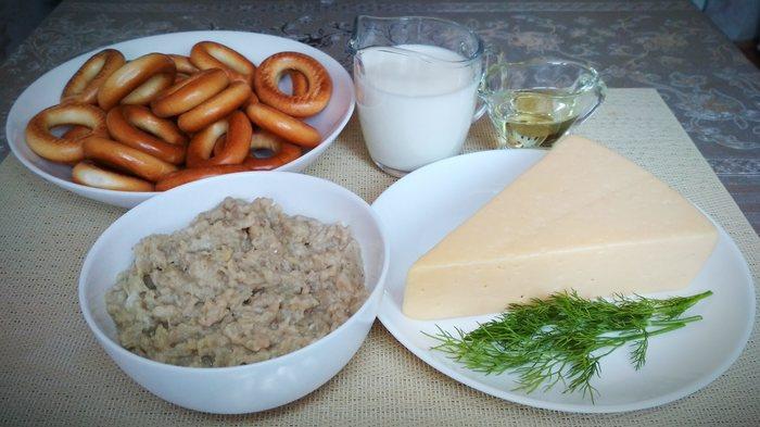 Фаршированные сушки – сытная закуска! Рецепт, Жуй-Ка!, Готовим дома, Закуска, Сушки, Фарш, Длиннопост