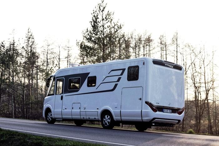 Представлен новый автодом Hymer на базе Спринтера Кемпер, Hymer, Автодома, Mercedes Sprinter, Длиннопост