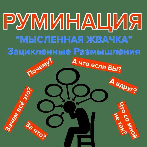 Руминация. Психотерапия, Видео, Мысленная жвачка