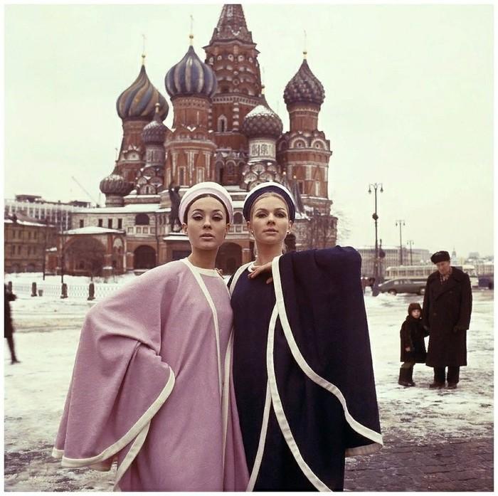 Серия снимков фотографа Пола Хафа для журнала мод, 1965 год. Фотография, Мода, СССР, Из сети, Длиннопост
