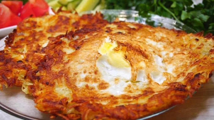 Завтрак из картофеля и яйца Завтрак, Рецепт, Видео рецепт, Видео, Еда, Кулинария
