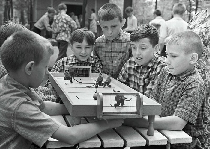 Досуг и развлечения в ностальгических фотографиях советского времени. СССР, Досуг, Игры, Длиннопост, Ностальгия