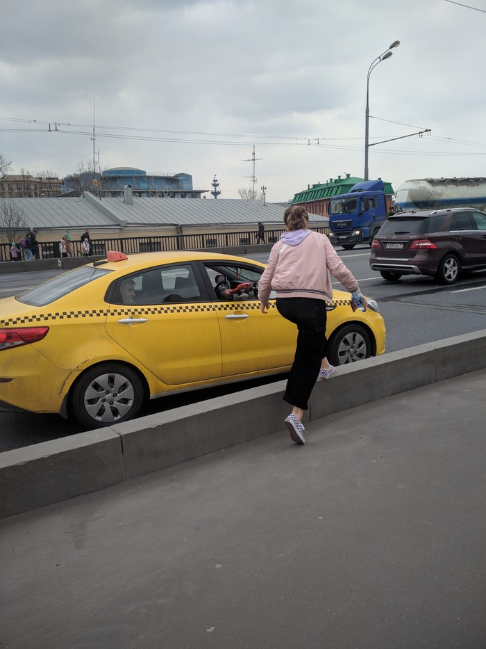 Поступил как человек Таксист, Помощь, Москва, Неравнодушие