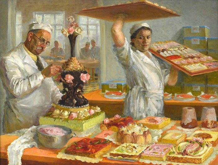 """История появления в СССР торта """"Птичье молоко"""" Птичье молоко, История, Торт, СССР, Интересное, Длиннопост"""