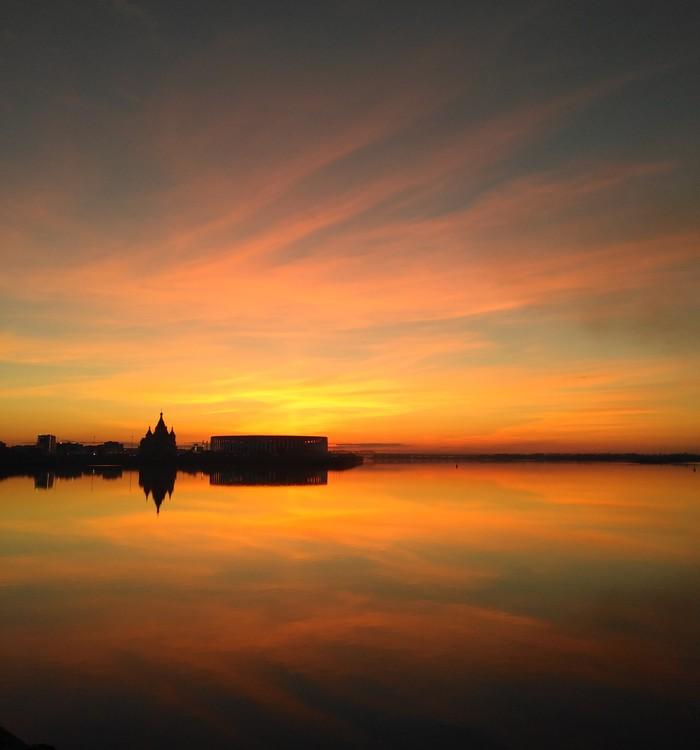 Нижний Новгород - город прекрасных закатов