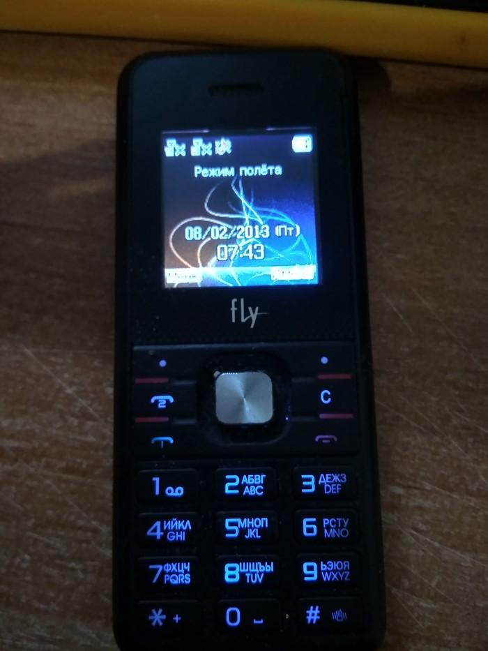 А я и забыла, что такое возможно. Мобильные телефоны, Аккумулятор, Fly, Старье