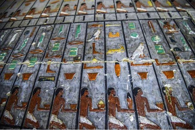 В Египте открыли гробницу возрастом 4000 лет с отлично сохранившимися рисунками. Египет, Археология, История, Длиннопост