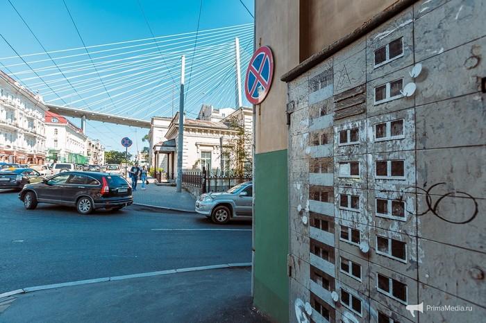 А так украшают электрические шкафы во Владивостоке Владивосток, Стрит-Арт, Длиннопост