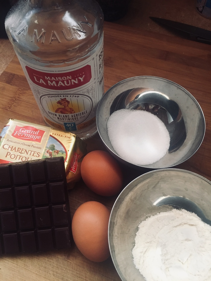 Французская классика: Шоколадный фондан Кулинария, Длиннопост, Выпечка, Французская кухня, Готовим дома, Шоколад