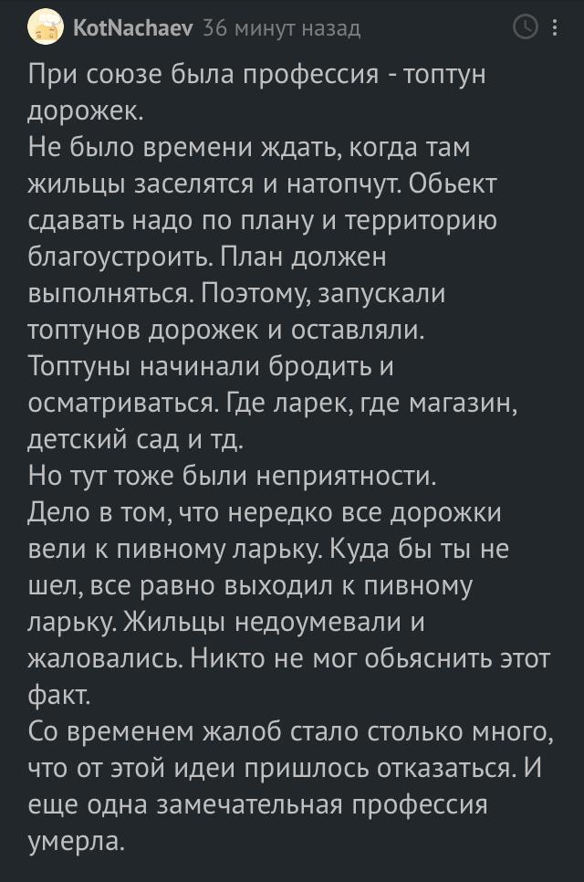 Топтун дорожек Скриншот, Дорожка, Юмор, Flierrka, Комментарии на Пикабу