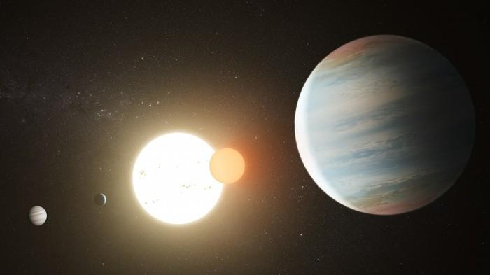 В системе Kepler-47 найдена третья экзопланета Космос, Телескоп, Kepler, Длиннопост, Созвездия, Созвездие Лебедя